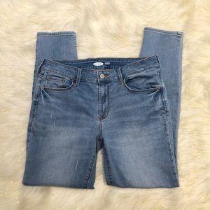 Old Navy Rockstar Super Skinny Light Blue Jeans 8S